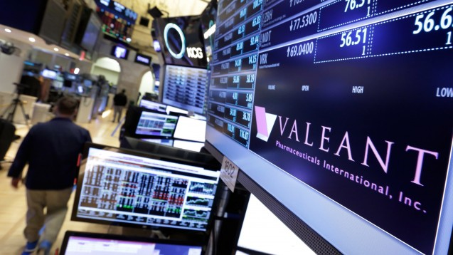 Schon wieder in den Schlagzeilen: Pharmakonzern Valeant. (Foto: dpa)