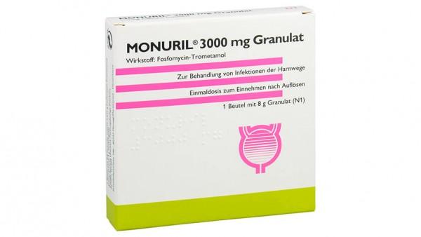 Falscher Beipackzettel bei Monuril