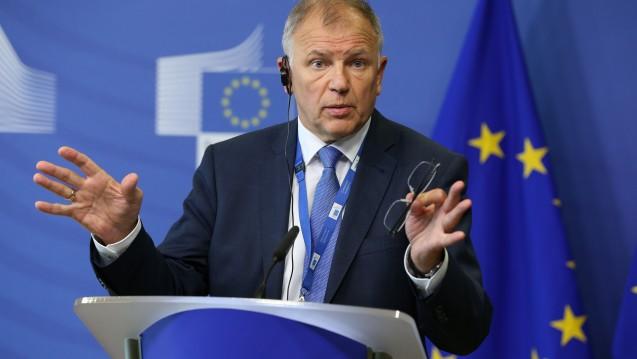 EU-Gesundheitskommissar Andriukaitis will die Nutzenbewertungen von Arzneimitteln und Medizinprodukten in Europa vereinheitlichen. (Foto: Picture Alliance)