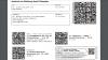 Ausgedruckter Zugangscode für ein E-Rezept nach den Vorgaben der KBV. (Quelle: KBV)
