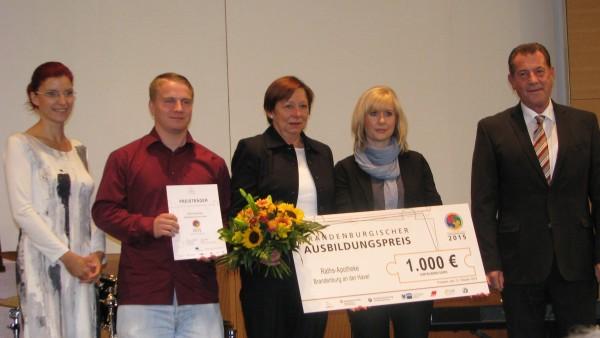 Preis für Brandenburger Apotheke