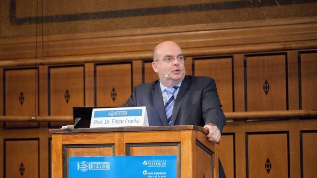 Prof. Dr. Edgar Franke, Vorsitzender des Bundestagsgesundheitsausschusses wagte ein Fazit.