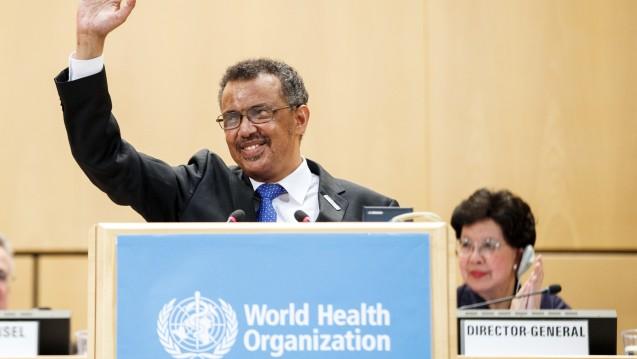 Tedros Adhanom Ghebreyesus aus Äthiopien will dafür sorgen, dass die WHO künftig schneller auf Krisensituationen reagieren kann. (Foto: dpa)
