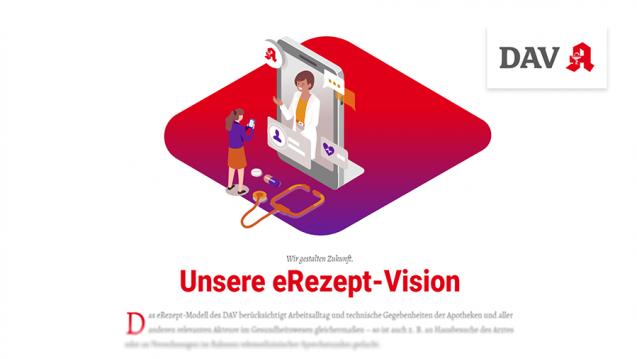 """""""Die offizielle App für einen staatlichen Auftrag"""" – so präsentiert sich die Patienten-App des DAV im Internet. (m / Abbild: DAZ.online)"""