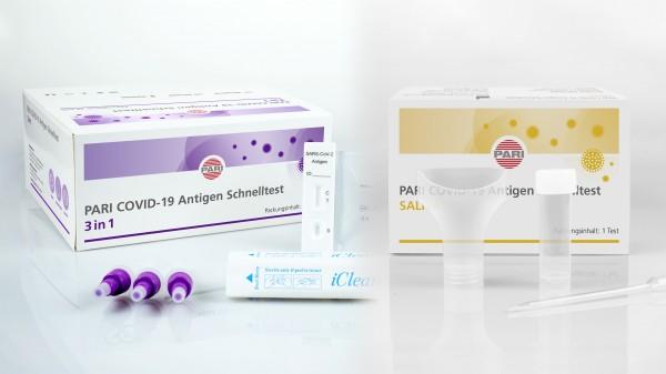 Pari bringt zwei Antigen-Schnelltests