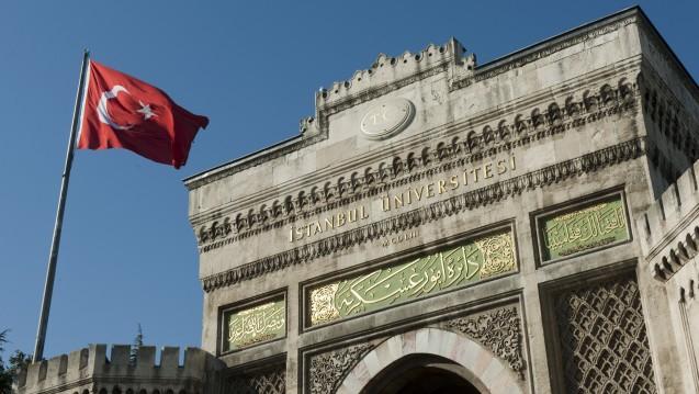 Verschlossene Tore: Die Türkei verhängt ein Reiseverbot für türkische Wissenschaftler– und lässt Forscher im Ausland zurückrufen. (Foto: picture alliance)