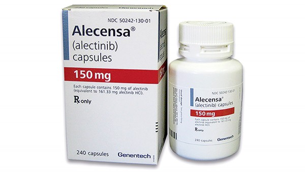 Alectinib künftig auch als First-line-Therapie