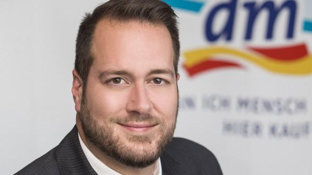 Harald Bauer, dm-Geschäftsführer (Ressort Marketing & Einkauf) in Österreich will OTC in die österreichischen dm-Regale bringen. (c / Foto: dm Österreich)