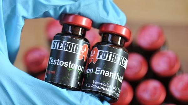 Handel mit Doping- und Potenzmitteln blüht