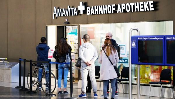Schweiz: Nur noch eine Arzneimittelpackung pro Einkauf
