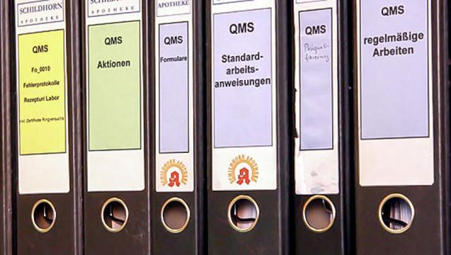 Qualitätsmanagement in der Apotheke: Aufwändig und doch Nutzen-stiftend. (Foto: Sket)