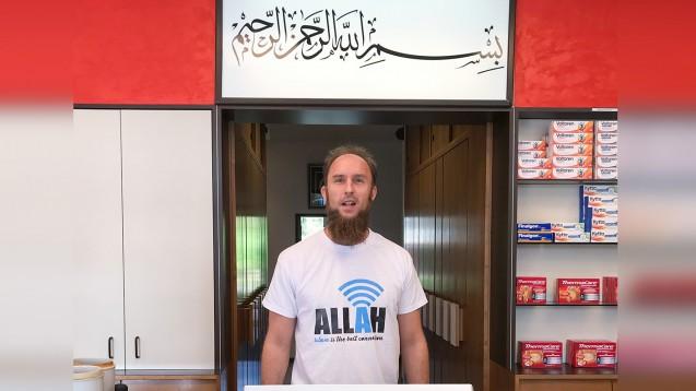 Der zum Islam konvertierte Apotheker Bernd Redemann sieht es als seine Pflicht und Aufgabe, die Menschen vom Islam zu überzeugen. Wer dem Islam nicht folge, der komme in die Hölle, so der Pharmazeut. (Foto: Bernd Redemann)