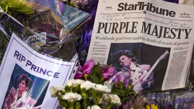 Am 21. April 2016, also heute vor fünf Jahren, wurde Prince tot aufgefunden. Er starb an einer Überdosis Fentanyl.(Foto: IMAGO / ZUMA Wire)