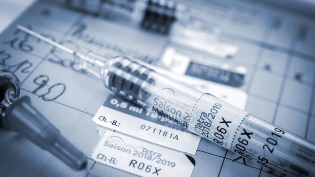 Auch jetzt ergibt eine Grippeimpfung laut RKI noch Sinn. (j/Foto: imago)