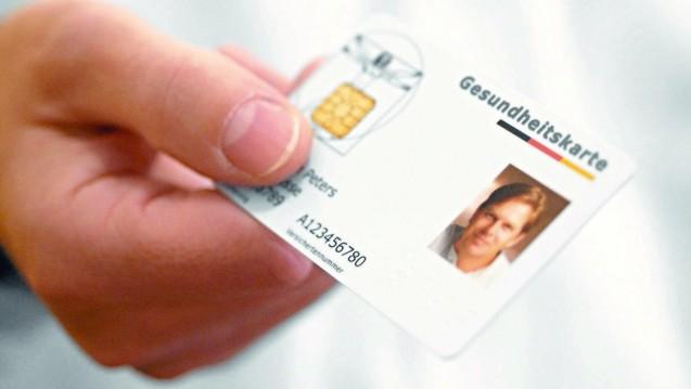 Die elektronische Gesundheitskarte soll als Schlüssel zur digitalen Patientenakte dienen. (Foto: BMG)