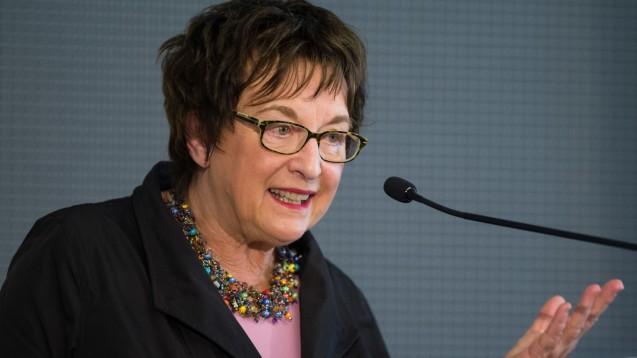 Beziehung zu DocMorris: Die niederländische Versandapotheke DocMorris zahlte 2014 für einen Vortrag der damaligen Staatssekretärin Brigitte Zypries. (Foto: dpa)