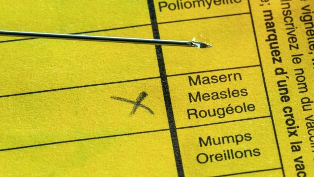 Geht es nach den Plänen von Bundesgesundheitsminister Jens Spahn (CDU) soll die Masern-Impfpflicht schob ab März 2020 gelten. (Foto: imago images/Arnulf Hettrich)