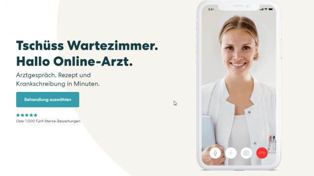 Teleclinic hat gegen den Deutschen Apotheker Verlag geklagt, weil dieser nach dem Zur Rose-Deal nicht mehr über apotheken.de mit dem Telemedizin-Anbieter zusammenarbeiten wollte. Das Landgericht Stuttgart hat die Klage nun abgewiesen. (x / Screenshot: Teleclinc.com)