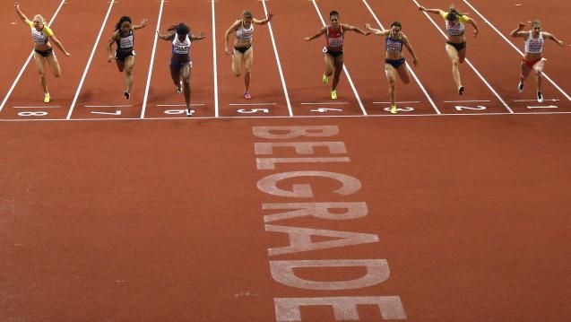 Nicht langsamer oder tatsächlicher schneller? Beim Sport gibt es das Zielfoto, bei Studien sind kleine Unterschiede schwerer rauszuarbeiten. (Foto:picture alliance / AP Photo)