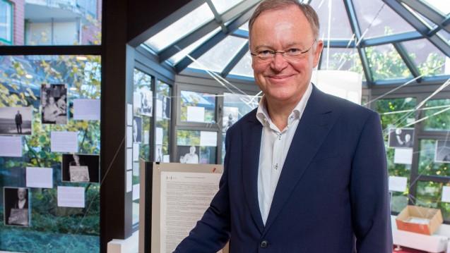 Strahlender Sieger: Der niedersächsische Ministerpräsident Stephan Weil (SPD) ist der Wahlsieger bei der niedersächsischen Landtagswahl. (Foto: dpa)