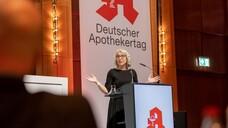 Für Gabriele Regina Overwiening war es der erste DAT als ABDA-Präsidentin. (Foto: Schelbert / DAZ)