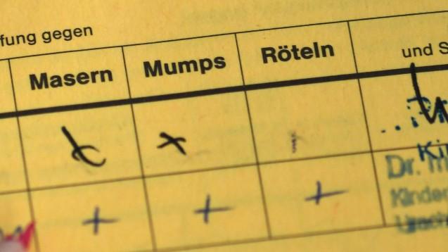 An fehlendem Impfstoff dürfte eine Masernimpfung derzeit nicht scheitern. (s / Foto:imago images / Winfried Rothermel)