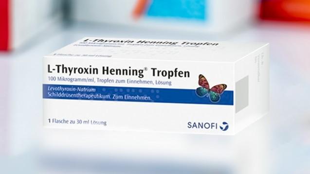 Sanofi kann nach eigener Aussage L-Thyroxin-Tropfen wieder kontinuierlich liefern. (s / Foto: Sanofi)