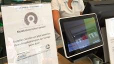 Aktion zum Tag der Patientensicherheit: die Apotheke erstellt mit dem Patienten einen Medikationsplan. (Foto: O. Rose)