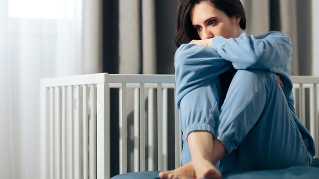 Eine postpartale Depression (PPD) kann laut einer Pressemitteilung der FDA auch schon während der Schwangerschaft beginnen. (c / Foto: nicoletaionescu / AdobeStock)