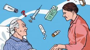 Ein Alzheimer-Patient