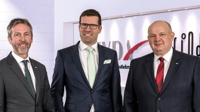 Vorstand der Linda AG:  Georg Rommerskirchen, Volker Karg und Helmut Trahmer (von l. nach r.). (Foto: Unternehmen)