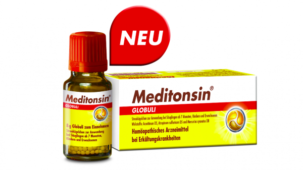Medice führt Meditonsin als Globuli ein