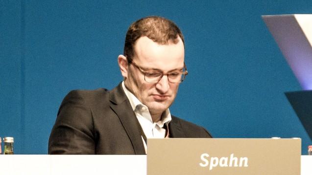 Bundesgesundheitsminister Jens Spahn (CDU) soll BMWi-Papieren zufolge ein höheres Zyto-Honorar gefordert haben, damit keine betrügerischen Aktivitäten mehr vorkommen. (Foto: imago images / Eibner)
