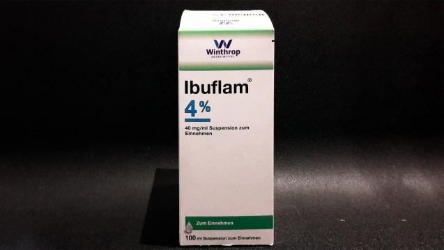 Ausgerechnet in der Erkältungs- und Grippezeit geht den Herstellern der Ibuprofen Fiebersaft aus. (Foto: Schwanen Apotheke / DAZ.online)