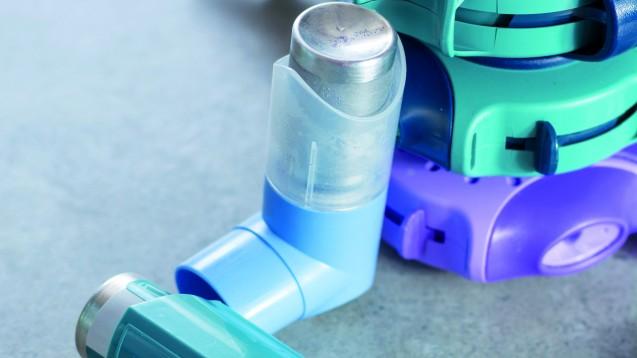 Die Anwendung von Dosieraerosolen und Pulverinhalatoren ist sehr stark fehlerbehaftet. (m / Foto: barmalini / stock.adobe.com)