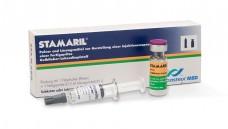Stamaril ist der einzige in Deutschland zugelassen Gelbfieberimpfstoff. Das RKI rät bei Bedarf bei einer internationalen Apotheke nachzufragen. (Foto: SPMSD)