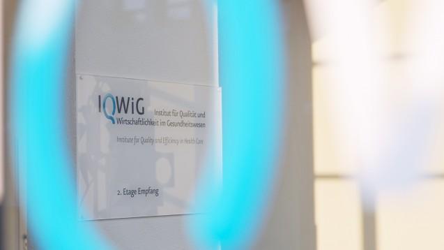Das IQWiG hat erneut zwei Nutzenbewertungen veröffentlicht. (Foto: IQWiG)
