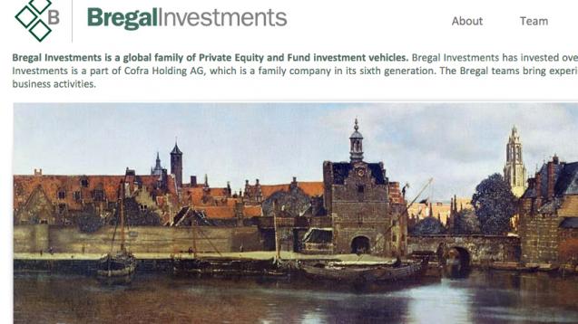Bregal gehört zur 2001 im Schweizerischen Zug gegründeten Cofra Holding AG, die das Vermögen der Familie Brenninkmeijer in Höhe von schätzungsweise 25 Milliarden Euro verwaltet. (Screenshot: DAZ.online)