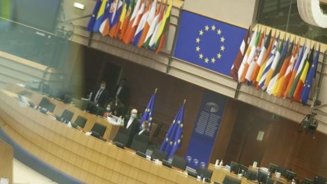 Das Europäische Parlament ist bereit für die EU-Ratspräsidentschaft. (Foto: imago images / Le Pictorium)