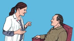 Ein Palliativ-Patient