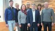 Der neue Vorstand des SAV (v.l.n.r.): Dr. Sebastian Michael, Kornelia Witzel, Eike Barthel, Uwe Bauer, Thomas Dittrich, Susanne Donner, Dr. Reinhard Groß. (c / Foto: SAV)