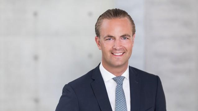 Philipp Siebelt, Sprecher des Vorstands der ARZ Haan AG, ist mit den Geschäften zufrieden. (c / Foto: ARZ Haan)