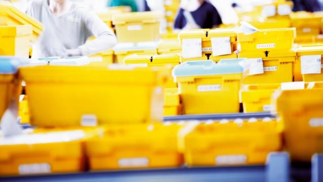 Die gelben Wannen sind das Markenzeichen vonAlliance Healthcare Deutschland. DerPharmagroßhändler bekommt nun einen neuen Chef. (Foto: Alliance Healthcare Deutschland)