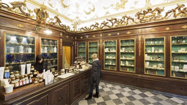 Derdurchschnittliche Umsatzeiner italienischen Apotheke beträgt etwa1,19 Millionen Euro. (Foto: dpa)
