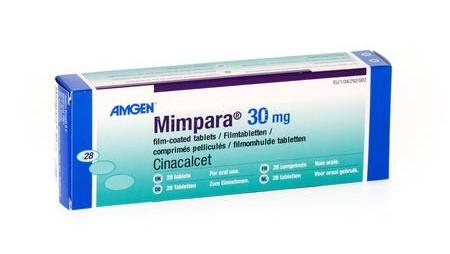 75 Packungen Mimpara verschwunden
