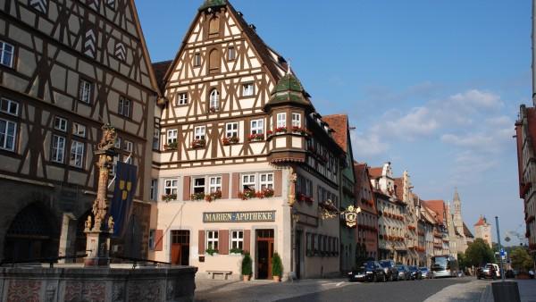 Rothenburgs historische Apotheke – die letzte ihrer Art