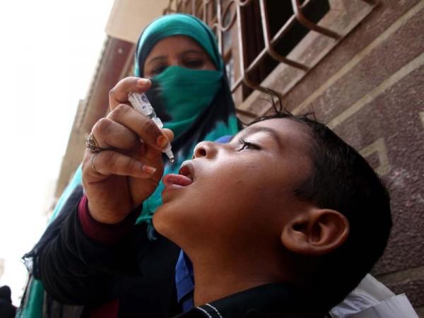 Polio-Impfaktion in Pakistan für 37 MillionenKinder