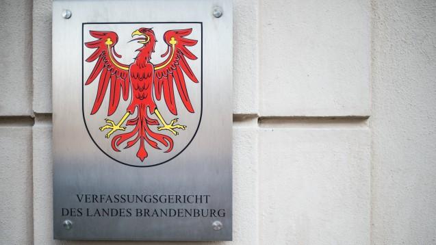 Zwei Brandenburger AfD-Politiker sind vor dem Verfassungsgericht des Landes Brandenburg abgeblitzt. (c / Foto: dpa)