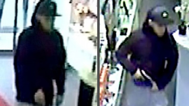 Wer kennt diesen Mann? Ein Unbekannter hat innerhalb weniger Tage bereits fünf Apotheken in Mönchengladbach überfallen. Die Apotheker setzen nun ein Kopfgeld aus. (Foto: Polizei)