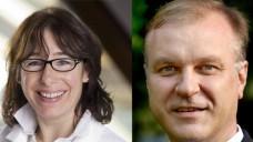 Westfalen-Lippes Kammer-Präsidentin Overwiening und Verbandschef Michels haben eine gemeinsame Erklärung zum Rx-Versandverbot abgegeben. (Fotomontage: DAZ)
